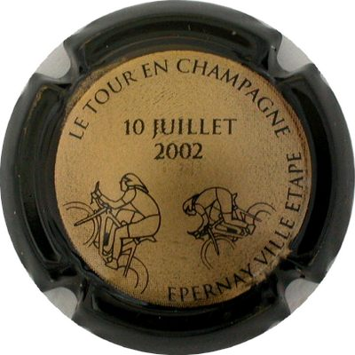 N°04x Tour de France 10 Juillet 2002, contour noir