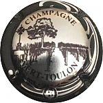 Capsule de Champagne LA GRAPPE D/'OR 5. L/'église