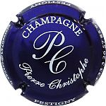 capsule de champagne Pierre Christophe cuvée de l enfer strass millésime 2010